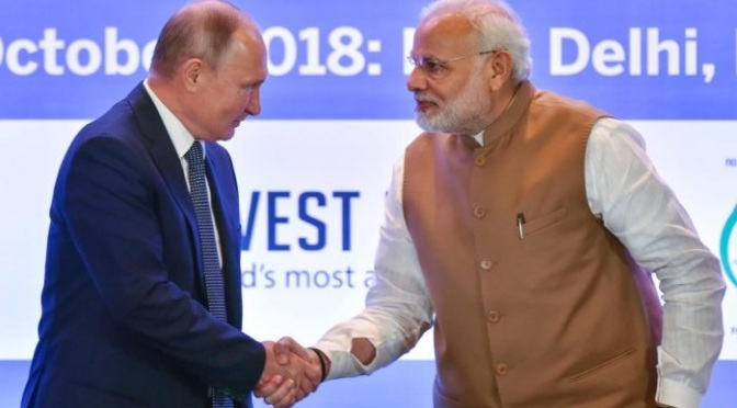 India Russia East Economic Forum