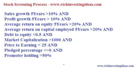 Stock Screening Process 2