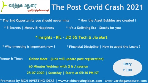 Post Covid Crash Webinar