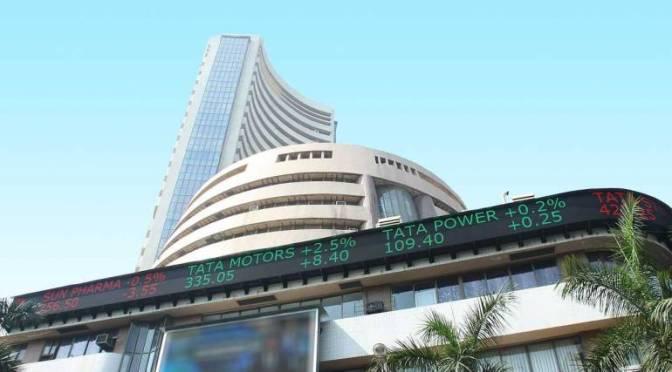 BSE Sensex since 1875