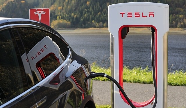 Tesla Electric Vehicle Recharging