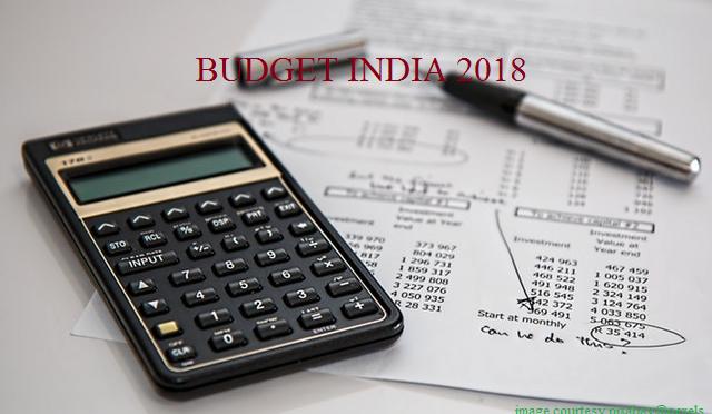 budget india 2018