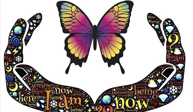 Gratitude Commandments butterfly