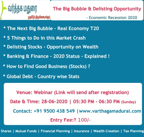 Stock Market Bubble Webinar