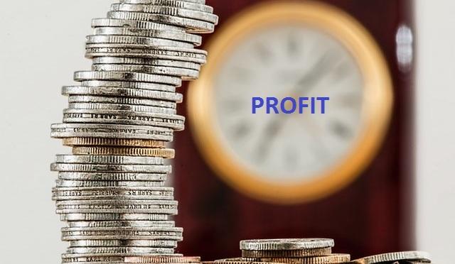 sales and net profit