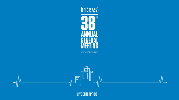 Infosys 38th Annual General Meeting