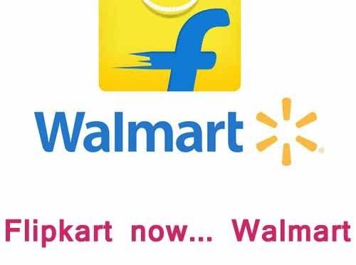 Flipkart now Walmart